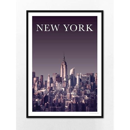 Fredstegn Plakat, New York