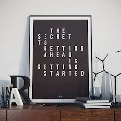 Hipd plakat, Getting Started, A3