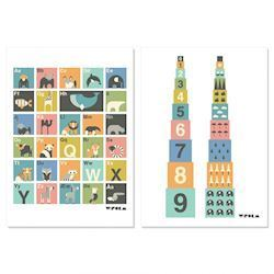 w:form ABC-plakat + Numbers, A3
